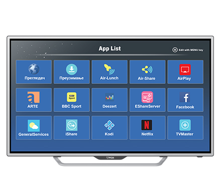 SMART LED TV 43DLE888